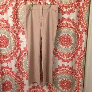 Dress Pants 10 Tan Pin Stripe